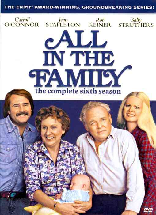 ALL IN THE FAMILY:COMPLETE 6TH SEASON BY ALL IN THE FAMILY (DVD)
