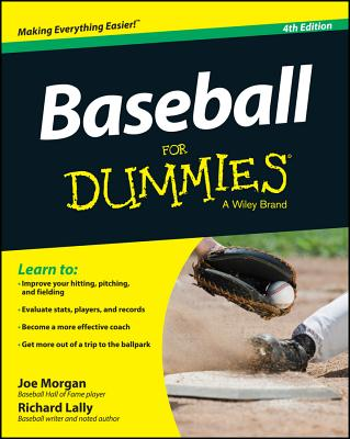 Baseball for Dummies By Morgan, Joe